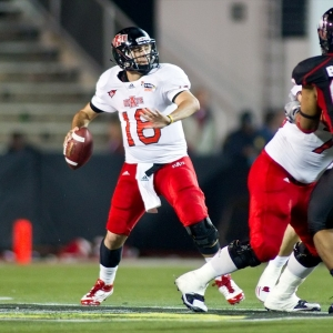 Arkansas State Red Wolves quarterback Ryan Aplin