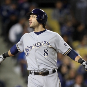 Milwaukee Brewers Ryan Braun