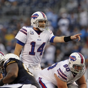 Buffalo Bills quarterback Ryan Fitzpatrick