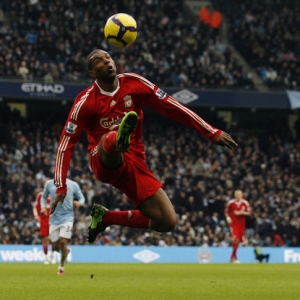 Ryan Babel of Liverpool