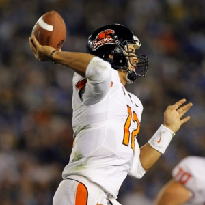 Oregon State Beavers quarterback Ryan Katz