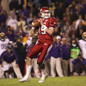 Ryan Mallett No. 15 of Arkansas