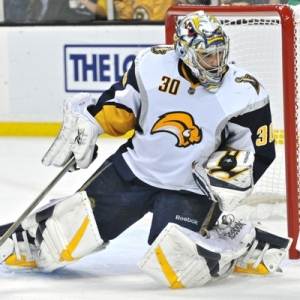 Boston Bruins Goalie Ryan Miller