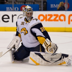 Buffalo Sabres goalie Ryan Miller