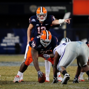 Syracuse Orange quarterback Ryan Nassib