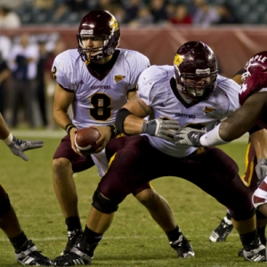 Central Michigan Chippewas quarterback Ryan Radcliff