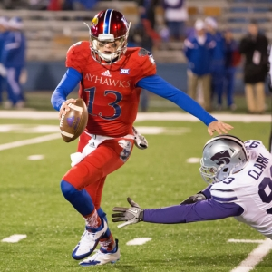 Kansas Jayhawks quarterback Ryan Willis
