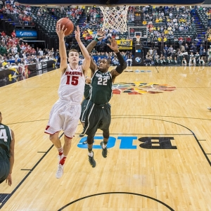 Wisconsin Badgers forward Sam Dekker
