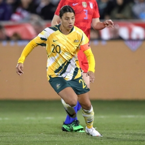 Sam Kerr Australia World Cup