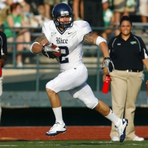 Rice Owls running back Sam McGuffie