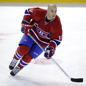 Scott Gomez of the Montreal Canadiens