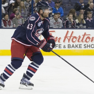 Scott Hartnell Columbus Blue Jackets