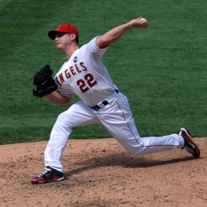 Los Angeles Angels of Anaheim pitcher Scott Kazmir