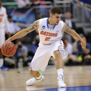 G Scottie Wilbekin of the Florida Gators