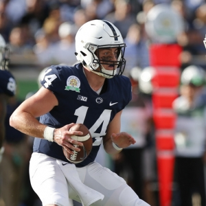 Penn State Nittany Lions quarterback Sean Clifford