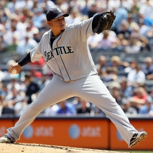 Felix Hernandez of the Seattle Mariners