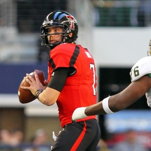 Texas Tech Red Raiders quarterback Seth Doege