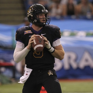 East Carolina Pirates quarterback Shane Carden