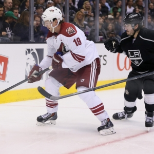 Phoenix Coyotes Right Wing Shane Doan