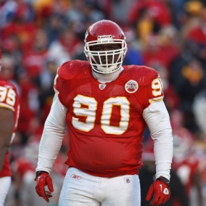 Kansas City Chiefs defensive tackle Shaun Smith