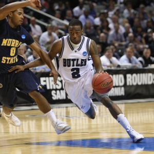 Butler University guard Shawn Vanzant