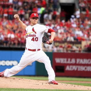 St. Louis Cardinals starting pitcher Shelby Miller