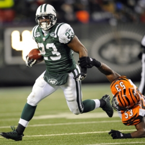 New York Jets running back Shonn Greene.