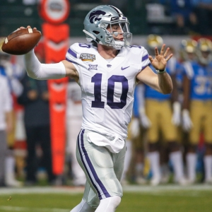 Kansas State Wildcats quarterback Skylar Thompson