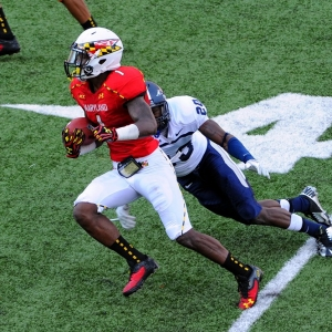 Maryland Terrapins wide receiver Stefon Diggs