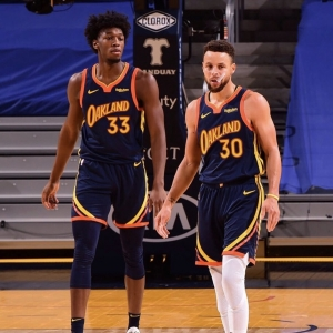 steph curry james wiseman golden state warriors