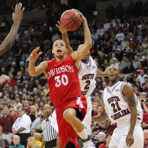 Stephen Curry of Davidson.
