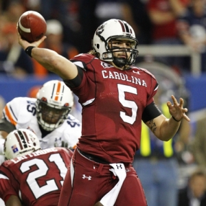 South Carolina Gamecocks quarterback Stephen Garcia