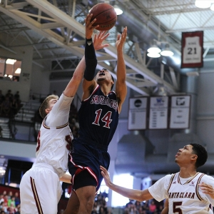 St. Mary's College Gaels guard Stephen Holt