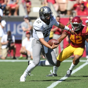 Steven Montez of the Colorado Buffaloes