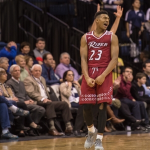 Rider Broncs guard Stevie Jordan