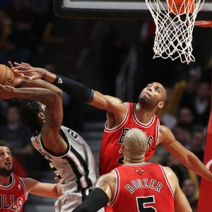 Chicago Bulls power forward Taj Gibson