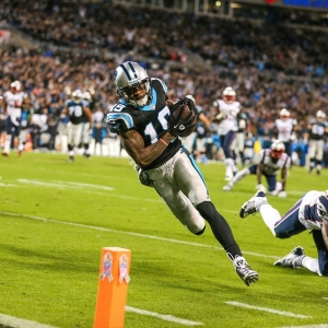 Carolina Panthers wide receiver Ted Ginn