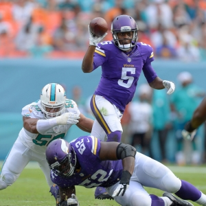 Minnesota Vikings Quarterback Teddy Bridgewater