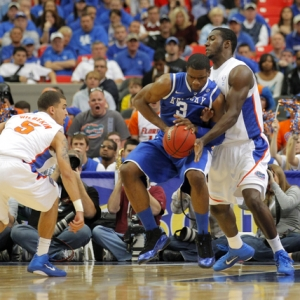 Kentucky Wildcats forward Terrence Jones