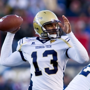 Georgia Tech Yellow Jackets quarterback Tevin Washington