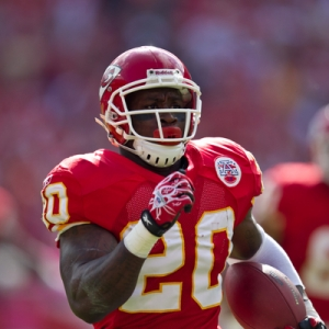 Kansas City Chiefs running back Thomas Jones