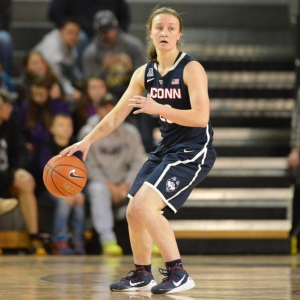 Connecticut Huskies guard Tierney Lawlor