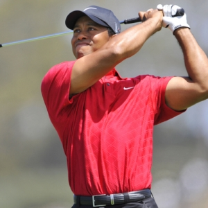 PGA golfer Tiger Woods
