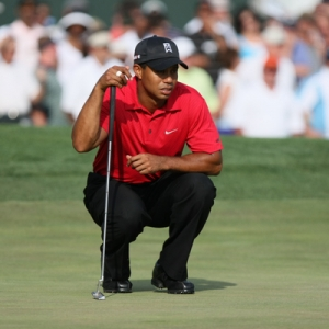 PGA Golfer Tiger Woods.
