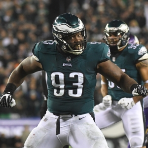 Philadelphia Eagles defensive tackle Timmy Jernigan
