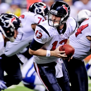 Houston Texans quarterback T.J. Yates