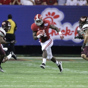 Alabama running back T.J. Yeldon
