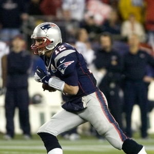 Patriot Quarterback Tom Brady