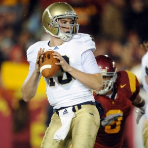 Notre Dame QB Tommy Rees