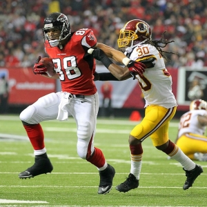 Atlanta Falcons tight end Tony Gonzalez